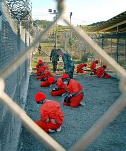Base militar do exército de EE.UU. en Guantánamo