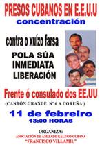 Concentración o vindeiro sábado 11 de febreiro