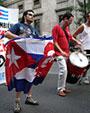 2500 personas solidarízanse con Cuba en Madrid
