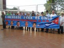 Homenaxe dos amigos de Cuba a Mirta Rodríguez en Compostela