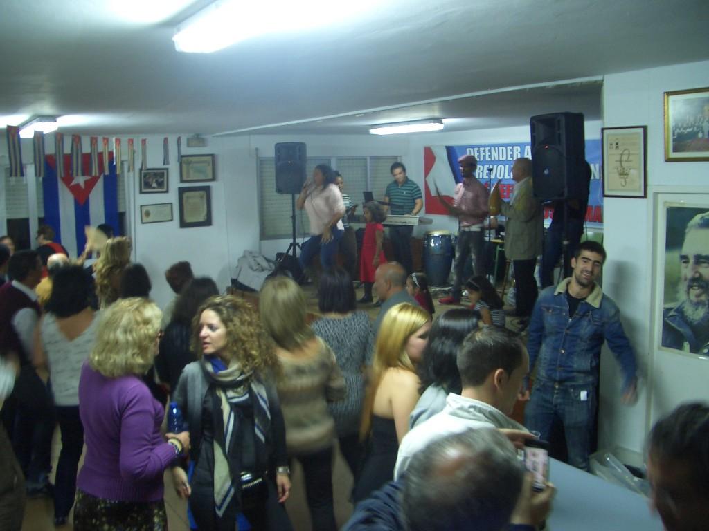 ALTA PARTICIPACIÓN NA FESTA DA CULTURA CUBANA EN COMPOSTELA