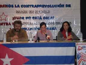 """A campaña """"Cuba Non Está Soia"""" denuncia a propaganda illacionista da dereita"""