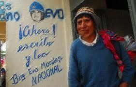 BOLIVIA, COA COLABORACIÓN DE CUBA E VENEZUELA, ACABA CO ANALFABETISMO EN 30 MESES E RIDICULIZA A COOPERACIÓN DOS PAISES RICOS