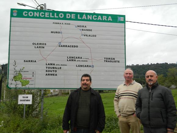IROEL SANCHEZ VISITA LÁNCARA ACOMPAÑADO POR DIRECTIVOS DA FRANCISCO VILLAMIL