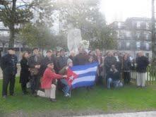 Martí, autor intelectual da Revolución Cubana, homenaxeado en Vigo