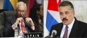 Cuba rectifica a García Margallo e recórdalle que España non foi invitada