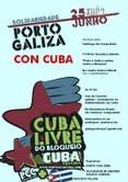 Encontro solidario de Porto e Galiza contra o bloqueo, 25 e 26 en Compostela