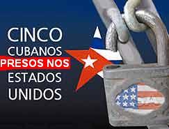 Estados Unidos protexe terroristas contra Cuba mentres mantén na cadea aos cinco presos cubanos