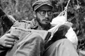 Fidel, na serra de Escambrai en 1958