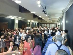 A Festa da Cultura celebrou en Compostela o nacimento da Bayamesa