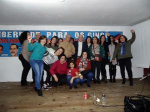 Personal do Consulado e a solidariedade Galego-Cubana, celebran en Compostela a volta dos Cinco Heroes