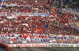 Primeiro de Maio en Habana