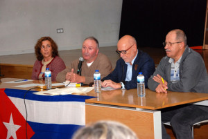 A Asemblea tratou entre outros temas, da maniipulación  informativa sobre a realidade cubana e do Bloqueo