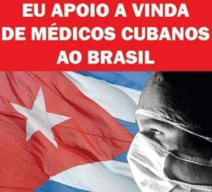 A campaña a prol das Brigadas Médicas Cubanas atinxiu todo Brasil