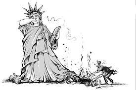 O facho das liberdades agacha o desprezo sistemático dos Dereitos Humanos en todo o planeta.