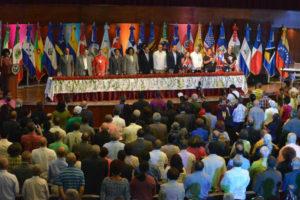O VIII Encontro Continental de Solidariedade con Cuba, congregou en Santo Domingo 370 delegados e delegadas de 25 países e representantes de organizacións de apoio.