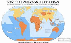 O hemisfério norte concentra o grosso do arsenal nuclear do planeta.