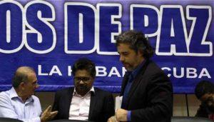 O acordo de paz chegou logo de catro anos de afervoadas e complexas negociacións na Habana entre representantes do governo de Colombia e delegados das FARC-EP.