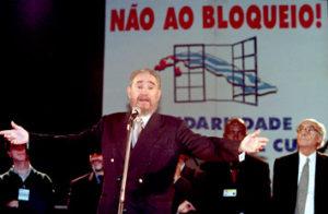 Fidel em Porto no 2000