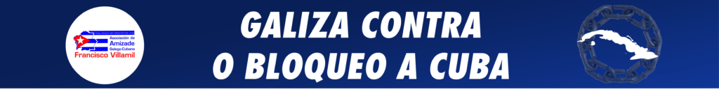 Galiza contra o bloqueo a Cuba